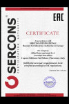 CUSTOM UNION - Certificate TRTS 32/2013 - HS code 7507 for Caspian Allied International